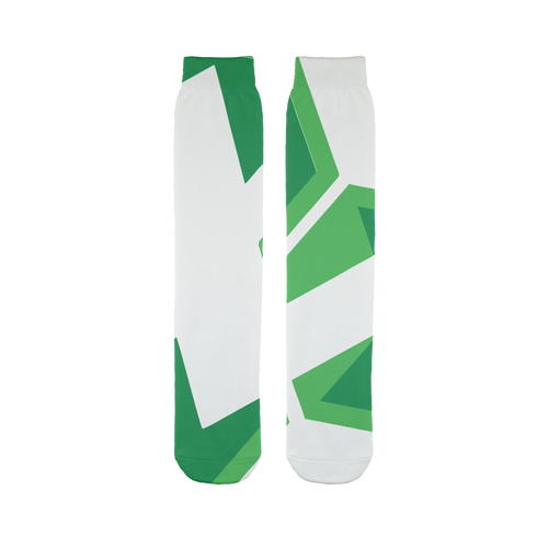 👕 Litecoin Cash LCC Logo Sublimation Tube Sock - Best Bitcoin Shirt Shop für Deutschland, Österreich, Schweiz. Top Qualität, 3-5 Tage geliefert und Krypto, Paypal Zahlung