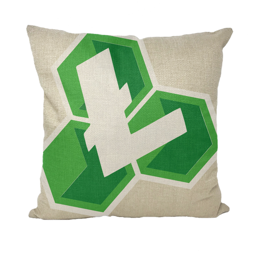 👕 Litecoin Cash LCC Logo Throw Pillows - Best Bitcoin Shirt Shop für Deutschland, Österreich, Schweiz. Top Qualität, 3-5 Tage geliefert und Krypto, Paypal Zahlung