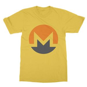 👕 Monero Logo Classic Heavy Cotton Adult T-Shirt - Best Bitcoin Shirt Shop für Deutschland, Österreich, Schweiz. Top Qualität, 3-5 Tage geliefert und Krypto, Paypal Zahlung