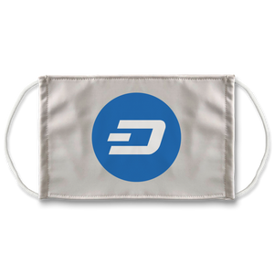 👕 Dash Logo Merch Crypto Sublimation Face Mask + 10 Replacement Filters - Best Bitcoin Shirt Shop für Deutschland, Österreich, Schweiz. Top Qualität, 3-5 Tage geliefert und Krypto, Paypal Zahlung