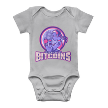 Load the picture into the gallery viewer, 👕 Bitcoin Boxergirl Classic Baby Onesie Bodysuit - Best Bitcoin Shirt Shop für Deutschland, Österreich, Schweiz. Top Qualität, 3-5 Tage geliefert und Krypto, Paypal Zahlung