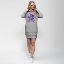 Load the picture into the gallery viewer, 👕 Bitcoin Boxergirl Premium Adult Hoodie Dress - Best Bitcoin Shirt Shop für Deutschland, Österreich, Schweiz. Top Qualität, 3-5 Tage geliefert und Krypto, Paypal Zahlung