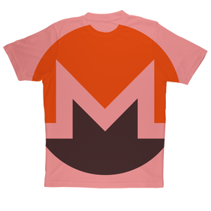 👕 Monero Logo Sublimation Performance Adult T-Shirt - Best Bitcoin Shirt Shop für Deutschland, Österreich, Schweiz. Top Qualität, 3-5 Tage geliefert und Krypto, Paypal Zahlung