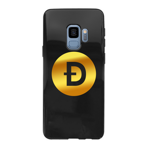 👕 Dogecoin Logo Crypto Merch Back Printed Black Soft Phone Case - Best Bitcoin Shirt Shop für Deutschland, Österreich, Schweiz. Top Qualität, 3-5 Tage geliefert und Krypto, Paypal Zahlung