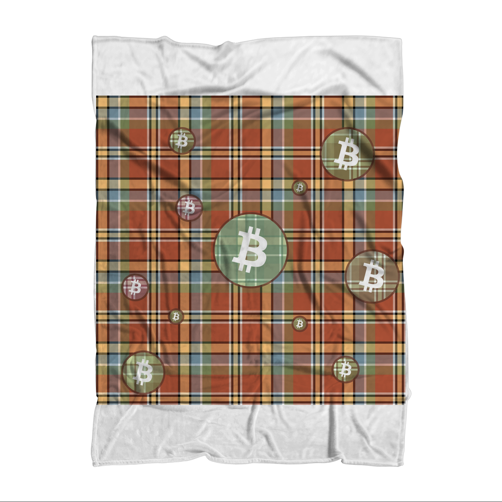 👕 Bitcoin kariertes braunes Muster Premium Sublimation Adult Blanket - Best Bitcoin Shirt Shop für Deutschland, Österreich, Schweiz. Top Qualität, 3-5 Tage geliefert und Krypto, Paypal Zahlung