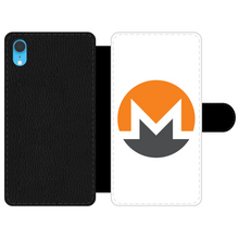 Laden Sie das Bild in den Galerie-Viewer, 👕 Monero Logo Front Printed Wallet Cases - Best Bitcoin Shirt Shop für Deutschland, Österreich, Schweiz. Top Qualität, 3-5 Tage geliefert und Krypto, Paypal Zahlung