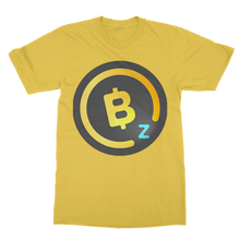 Laden Sie das Bild in den Galerie-Viewer, 👕 BitcoinZ BTCZ Logo Classic Adult T-Shirt - Best Bitcoin Shirt Shop für Deutschland, Österreich, Schweiz. Top Qualität, 3-5 Tage geliefert und Krypto, Paypal Zahlung