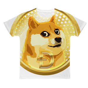 👕 Dogecoin Hund Shiba Inu Meme Classic Sublimation Adult T-Shirt - Best Bitcoin Shirt Shop für Deutschland, Österreich, Schweiz. Top Qualität, 3-5 Tage geliefert und Krypto, Paypal Zahlung