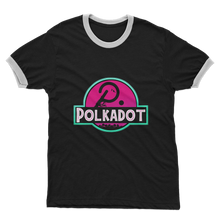 Laden Sie das Bild in den Galerie-Viewer, 👕 Polkadot Adult Ringer T-Shirt - Best Bitcoin Shirt Shop für Deutschland, Österreich, Schweiz. Top Qualität, 3-5 Tage geliefert und Krypto, Paypal Zahlung