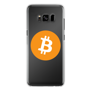 👕 Bitcoin Logo Back Printed Transparent Hard Phone Case - Best Bitcoin Shirt Shop für Deutschland, Österreich, Schweiz. Top Qualität, 3-5 Tage geliefert und Krypto, Paypal Zahlung