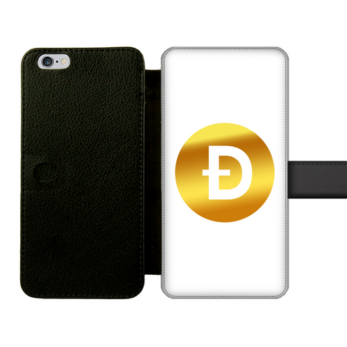 👕 Dogecoin Logo Crypto Merch Front Printed Wallet Cases - Best Bitcoin Shirt Shop für Deutschland, Österreich, Schweiz. Top Qualität, 3-5 Tage geliefert und Krypto, Paypal Zahlung