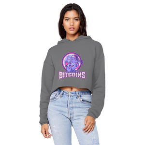 👕 Bitcoin Boxergirl Unisex Cropped Raw Edge Boyfriend Hoodie - Best Bitcoin Shirt Shop für Deutschland, Österreich, Schweiz. Top Qualität, 3-5 Tage geliefert und Krypto, Paypal Zahlung