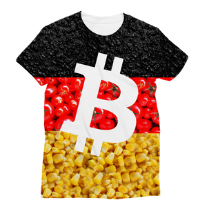 👕 Bitcoin Tomaten, Asphalt und Mais Classic Sublimation Women's T-Shirt - Best Bitcoin Shirt Shop für Deutschland, Österreich, Schweiz. Top Qualität, 3-5 Tage geliefert und Krypto, Paypal Zahlung