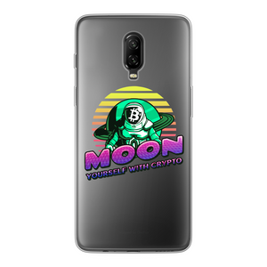 👕 Moon yourself with crypto Back Printed Transparent Soft Phone Case - Best Bitcoin Shirt Shop für Deutschland, Österreich, Schweiz. Top Qualität, 3-5 Tage geliefert und Krypto, Paypal Zahlung