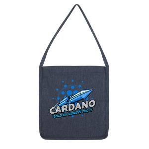 👕 Cardano sold my kidneys for it Classic Tote Bag - Best Bitcoin Shirt Shop für Deutschland, Österreich, Schweiz. Top Qualität, 3-5 Tage geliefert und Krypto, Paypal Zahlung