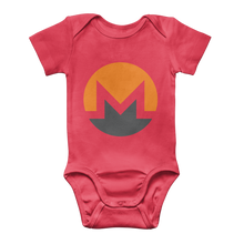 Laden Sie das Bild in den Galerie-Viewer, 👕 Monero Logo Classic Baby Onesie Bodysuit - Best Bitcoin Shirt Shop für Deutschland, Österreich, Schweiz. Top Qualität, 3-5 Tage geliefert und Krypto, Paypal Zahlung