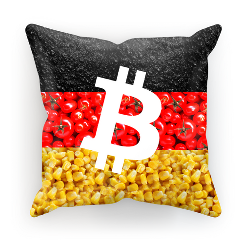 👕 Bitcoin Tomaten, Asphalt und Mais Sublimation Cushion Cover - Best Bitcoin Shirt Shop für Deutschland, Österreich, Schweiz. Top Qualität, 3-5 Tage geliefert und Krypto, Paypal Zahlung