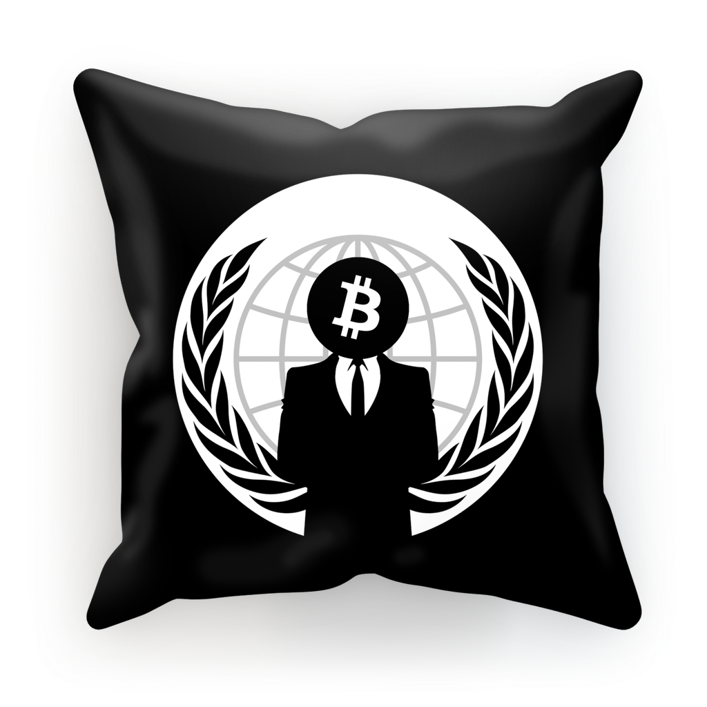 👕 Bitcoin Anonymous Sublimation Cushion Cover - Best Bitcoin Shirt Shop für Deutschland, Österreich, Schweiz. Top Qualität, 3-5 Tage geliefert und Krypto, Paypal Zahlung