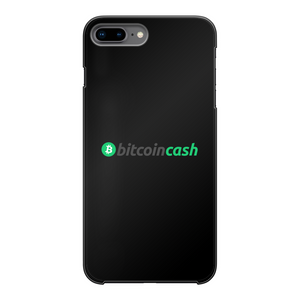 👕 Bitcoin Cash BCH Merch Back Printed Black Hard Phone Case - Best Bitcoin Shirt Shop für Deutschland, Österreich, Schweiz. Top Qualität, 3-5 Tage geliefert und Krypto, Paypal Zahlung