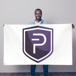👕 Pivx Logo Crypto Merch Sublimation Flag - Best Bitcoin Shirt Shop für Deutschland, Österreich, Schweiz. Top Qualität, 3-5 Tage geliefert und Krypto, Paypal Zahlung