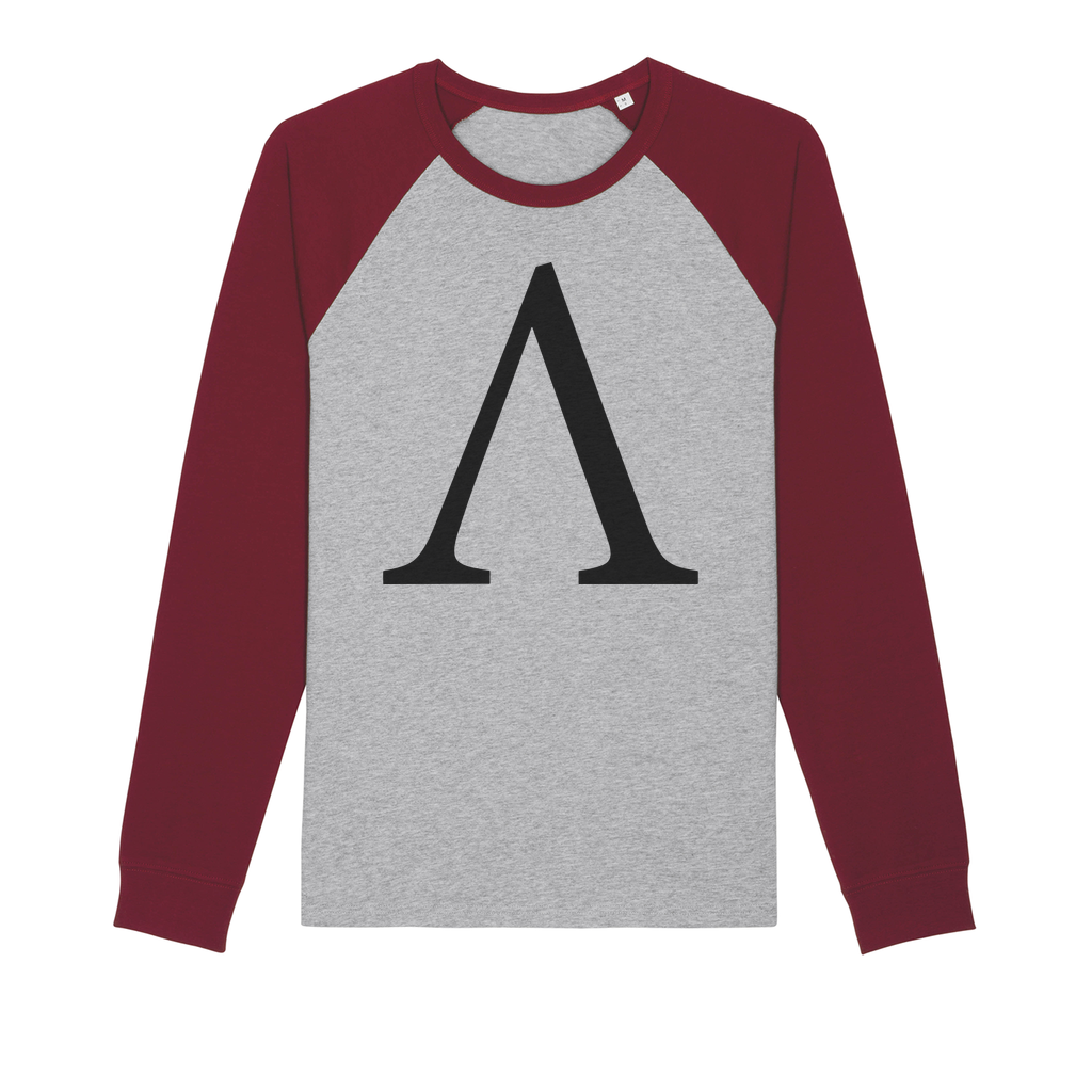 👕 Ampleforth AMPL Logo Organic Raglan Long Sleeve Shirt - Best Bitcoin Shirt Shop für Deutschland, Österreich, Schweiz. Top Qualität, 3-5 Tage geliefert und Krypto, Paypal Zahlung