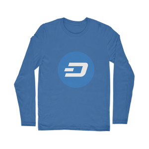 👕 Dash Logo Merch Crypto Classic Long Sleeve T-Shirt - Best Bitcoin Shirt Shop für Deutschland, Österreich, Schweiz. Top Qualität, 3-5 Tage geliefert und Krypto, Paypal Zahlung