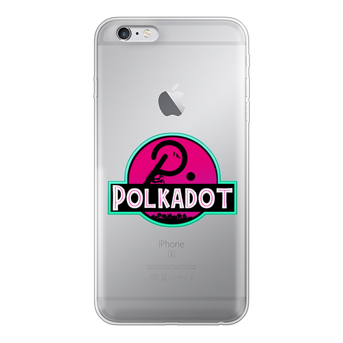 👕 Polkadot Back Printed Transparent Soft Phone Case - Best Bitcoin Shirt Shop für Deutschland, Österreich, Schweiz. Top Qualität, 3-5 Tage geliefert und Krypto, Paypal Zahlung