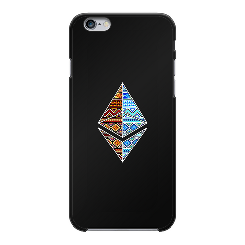 👕 Afrithereum African Ethereum Back Printed Black Hard Phone Case - Best Bitcoin Shirt Shop für Deutschland, Österreich, Schweiz. Top Qualität, 3-5 Tage geliefert und Krypto, Paypal Zahlung