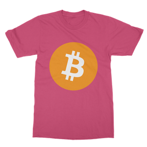 👕 Bitcoin Logo Classic Heavy Cotton Adult T-Shirt - Best Bitcoin Shirt Shop für Deutschland, Österreich, Schweiz. Top Qualität, 3-5 Tage geliefert und Krypto, Paypal Zahlung