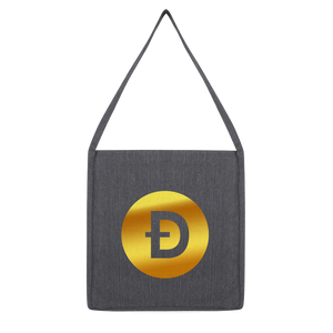 👕 Dogecoin Logo Crypto Merch Classic Tote Bag - Best Bitcoin Shirt Shop für Deutschland, Österreich, Schweiz. Top Qualität, 3-5 Tage geliefert und Krypto, Paypal Zahlung