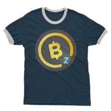 Laden Sie das Bild in den Galerie-Viewer, 👕 BitcoinZ BTCZ Logo Adult Ringer T-Shirt - Best Bitcoin Shirt Shop für Deutschland, Österreich, Schweiz. Top Qualität, 3-5 Tage geliefert und Krypto, Paypal Zahlung
