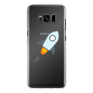 👕 stellar XLM Logo Crypto Merch Back Printed Transparent Hard Phone Case - Best Bitcoin Shirt Shop für Deutschland, Österreich, Schweiz. Top Qualität, 3-5 Tage geliefert und Krypto, Paypal Zahlung