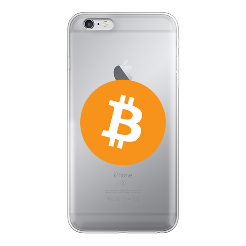 👕 Bitcoin Logo Back Printed Transparent Soft Phone Case - Best Bitcoin Shirt Shop für Deutschland, Österreich, Schweiz. Top Qualität, 3-5 Tage geliefert und Krypto, Paypal Zahlung
