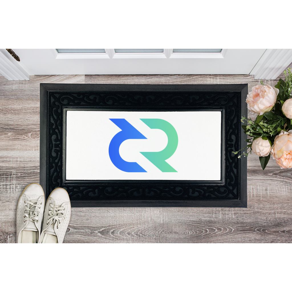 👕 Decred DCR Logo Sublimation Heavy Duty Door Mat - Best Bitcoin Shirt Shop für Deutschland, Österreich, Schweiz. Top Qualität, 3-5 Tage geliefert und Krypto, Paypal Zahlung