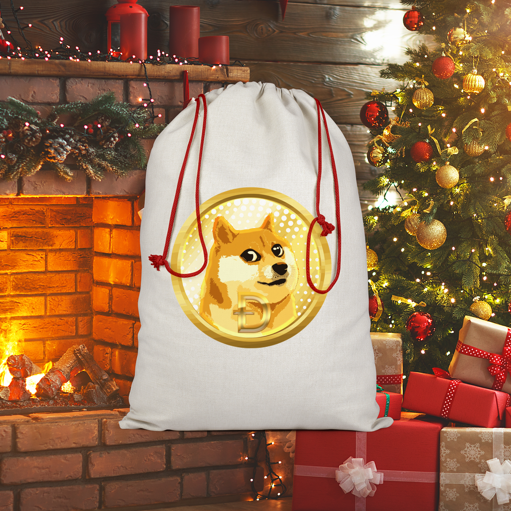 👕 Dogecoin Hund Shiba Inu Meme Sublimation Linen Drawstring Sack - Best Bitcoin Shirt Shop für Deutschland, Österreich, Schweiz. Top Qualität, 3-5 Tage geliefert und Krypto, Paypal Zahlung