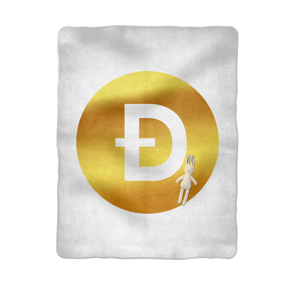 👕 Dogecoin Logo Crypto Merch Bitcoin-Babydecke - Best Bitcoin Shirt Shop für Deutschland, Österreich, Schweiz. Top Qualität, 3-5 Tage geliefert und Krypto, Paypal Zahlung