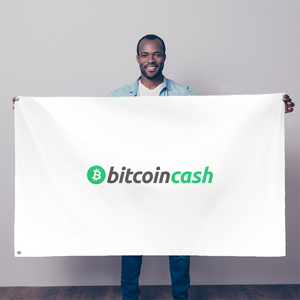 👕 Bitcoin Cash BCH Merch Sublimation Flag - Best Bitcoin Shirt Shop für Deutschland, Österreich, Schweiz. Top Qualität, 3-5 Tage geliefert und Krypto, Paypal Zahlung