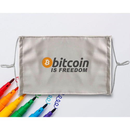 👕 Bitcoin is Freedom Sublimation Colouring Face Mask - Best Bitcoin Shirt Shop für Deutschland, Österreich, Schweiz. Top Qualität, 3-5 Tage geliefert und Krypto, Paypal Zahlung