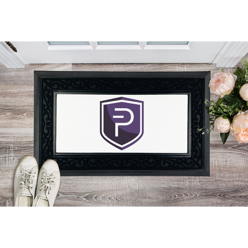 👕 Pivx Logo Crypto Merch Sublimation Heavy Duty Door Mat - Best Bitcoin Shirt Shop für Deutschland, Österreich, Schweiz. Top Qualität, 3-5 Tage geliefert und Krypto, Paypal Zahlung