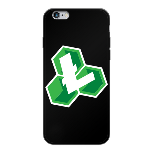 👕 Litecoin Cash LCC Logo Back Printed Black Soft Phone Case - Best Bitcoin Shirt Shop für Deutschland, Österreich, Schweiz. Top Qualität, 3-5 Tage geliefert und Krypto, Paypal Zahlung