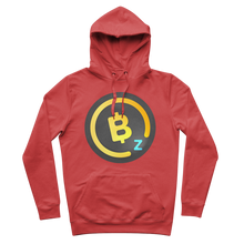 Laden Sie das Bild in den Galerie-Viewer, 👕 BitcoinZ BTCZ Logo Premium Adult Hoodie - Best Bitcoin Shirt Shop für Deutschland, Österreich, Schweiz. Top Qualität, 3-5 Tage geliefert und Krypto, Paypal Zahlung