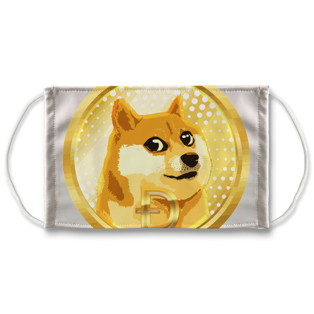 👕 Dogecoin Hund Shiba Inu Meme Sublimation Face Mask + 10 Replacement Filters - Best Bitcoin Shirt Shop für Deutschland, Österreich, Schweiz. Top Qualität, 3-5 Tage geliefert und Krypto, Paypal Zahlung