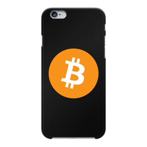 👕 Bitcoin Logo Back Printed Black Hard Phone Case - Best Bitcoin Shirt Shop für Deutschland, Österreich, Schweiz. Top Qualität, 3-5 Tage geliefert und Krypto, Paypal Zahlung