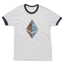Laden Sie das Bild in den Galerie-Viewer, 👕 Afrithereum African Ethereum Adult Ringer T-Shirt - Best Bitcoin Shirt Shop für Deutschland, Österreich, Schweiz. Top Qualität, 3-5 Tage geliefert und Krypto, Paypal Zahlung