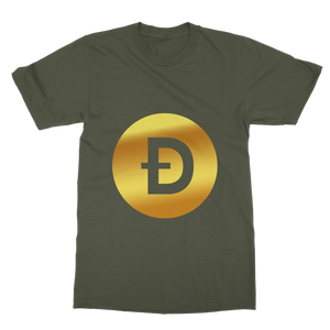 👕 Dogecoin Logo Crypto Merch T-Shirt Dress - Best Bitcoin Shirt Shop für Deutschland, Österreich, Schweiz. Top Qualität, 3-5 Tage geliefert und Krypto, Paypal Zahlung