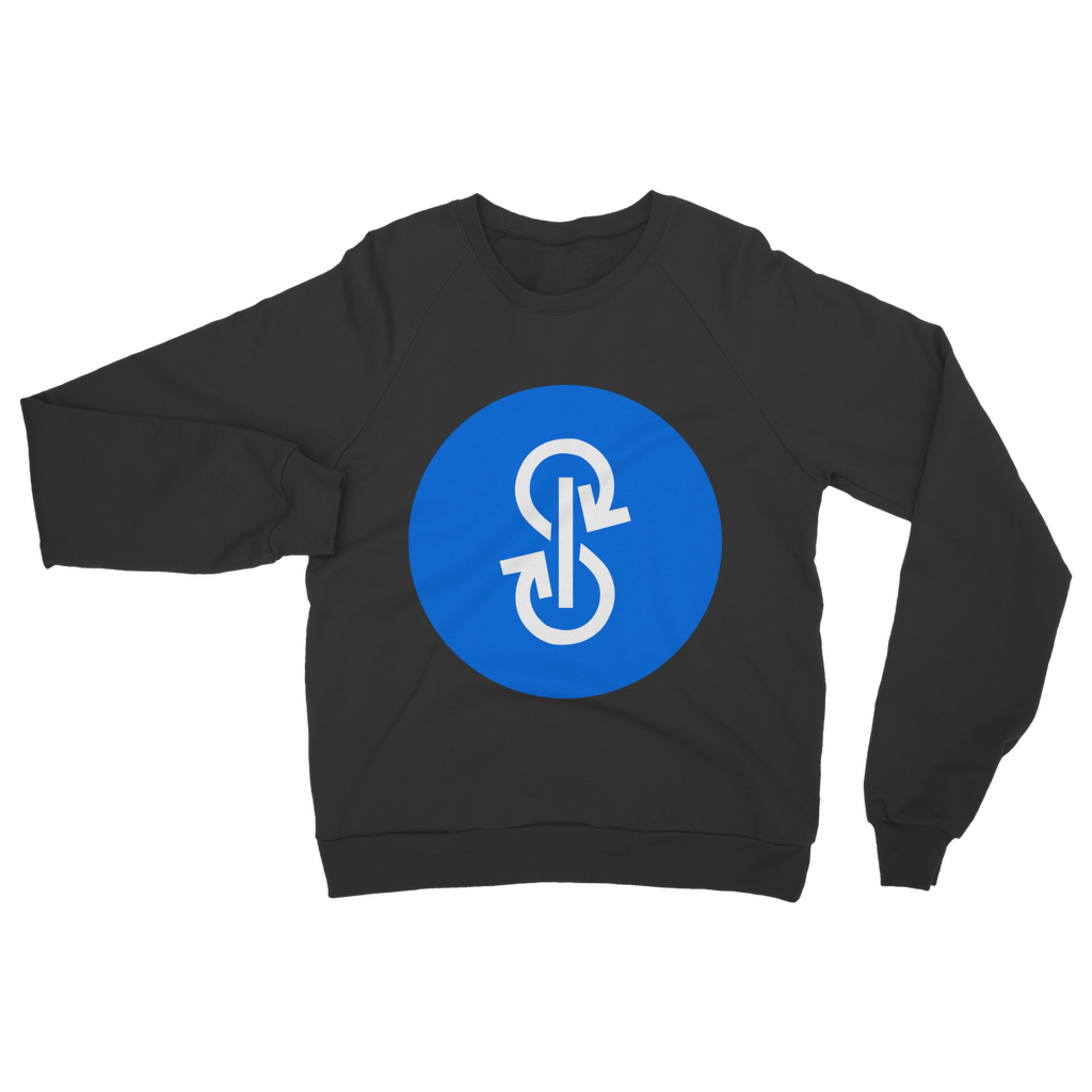 👕 yearn.finance YFI Logo Classic Adult Sweatshirt - Best Bitcoin Shirt Shop für Deutschland, Österreich, Schweiz. Top Qualität, 3-5 Tage geliefert und Krypto, Paypal Zahlung