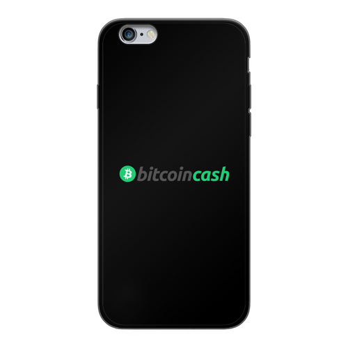 👕 Bitcoin Cash BCH Merch Back Printed Black Soft Phone Case - Best Bitcoin Shirt Shop für Deutschland, Österreich, Schweiz. Top Qualität, 3-5 Tage geliefert und Krypto, Paypal Zahlung