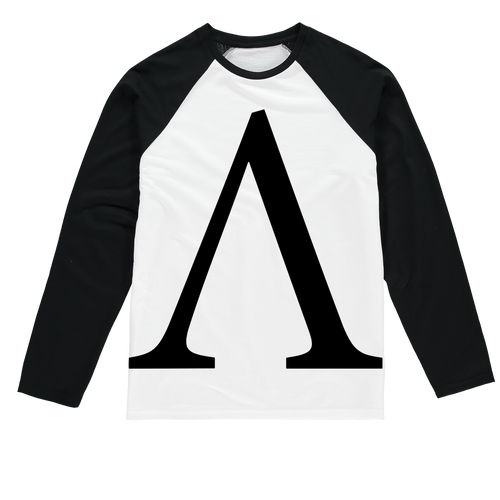 👕 Ampleforth AMPL Logo Sublimation Baseball Long Sleeve T-Shirt - Best Bitcoin Shirt Shop für Deutschland, Österreich, Schweiz. Top Qualität, 3-5 Tage geliefert und Krypto, Paypal Zahlung