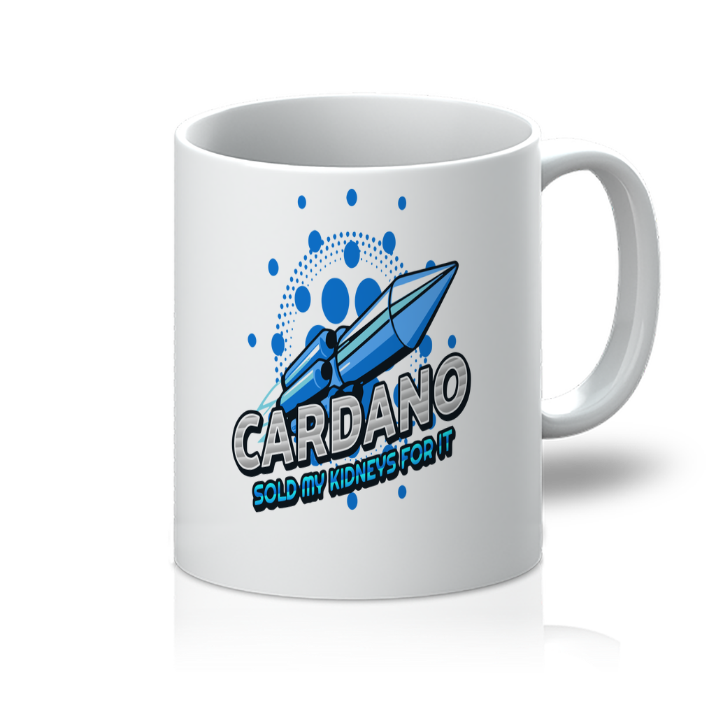 👕 Cardano sold my kidneys for it 11oz Mug - Best Bitcoin Shirt Shop für Deutschland, Österreich, Schweiz. Top Qualität, 3-5 Tage geliefert und Krypto, Paypal Zahlung