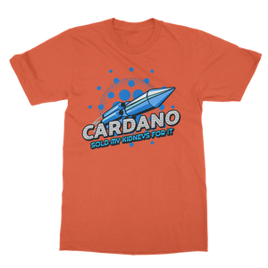 👕 Cardano sold my kidneys for it Classic Heavy Cotton Adult T-Shirt - Best Bitcoin Shirt Shop für Deutschland, Österreich, Schweiz. Top Qualität, 3-5 Tage geliefert und Krypto, Paypal Zahlung